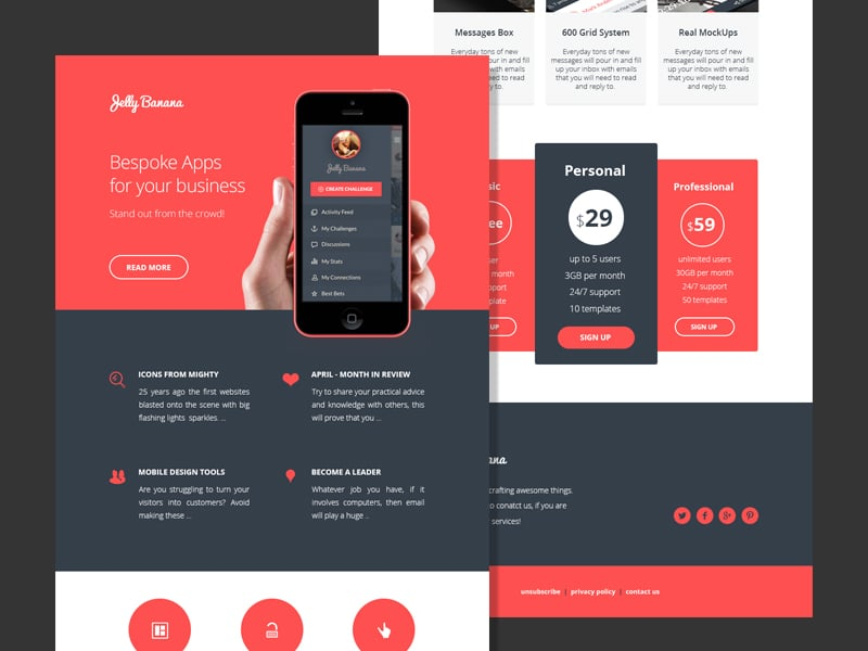 Proposable Web Design Template